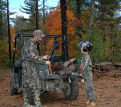 Yamaha Outdoors Tips — Take a Kid Hunting This Year